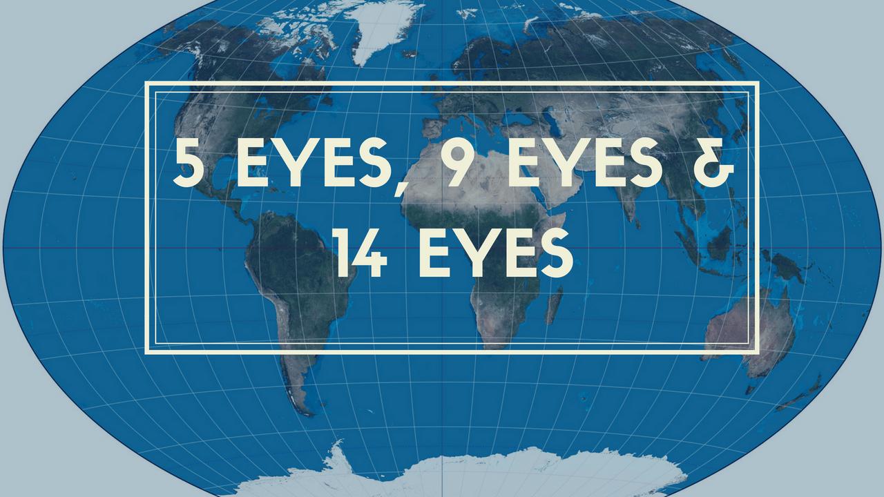 Best VPN Jurisdictions – Understanding 5 Eyes, 9 Eyes, and 14 Eyes