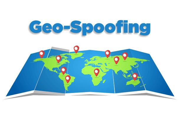 Geo-spoofing Image