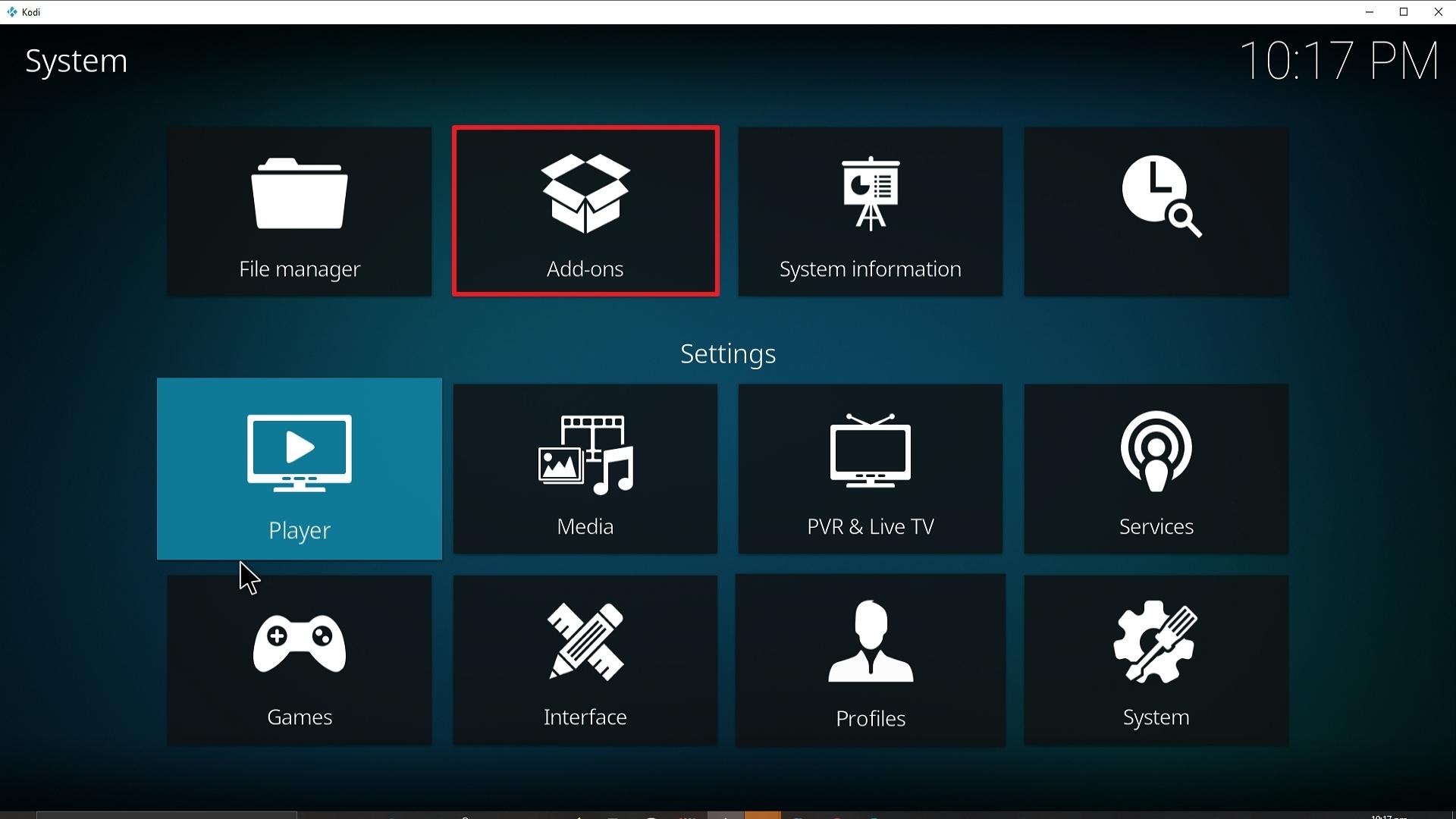 Step 15 Installing Diggz Xenon addon on Kodi