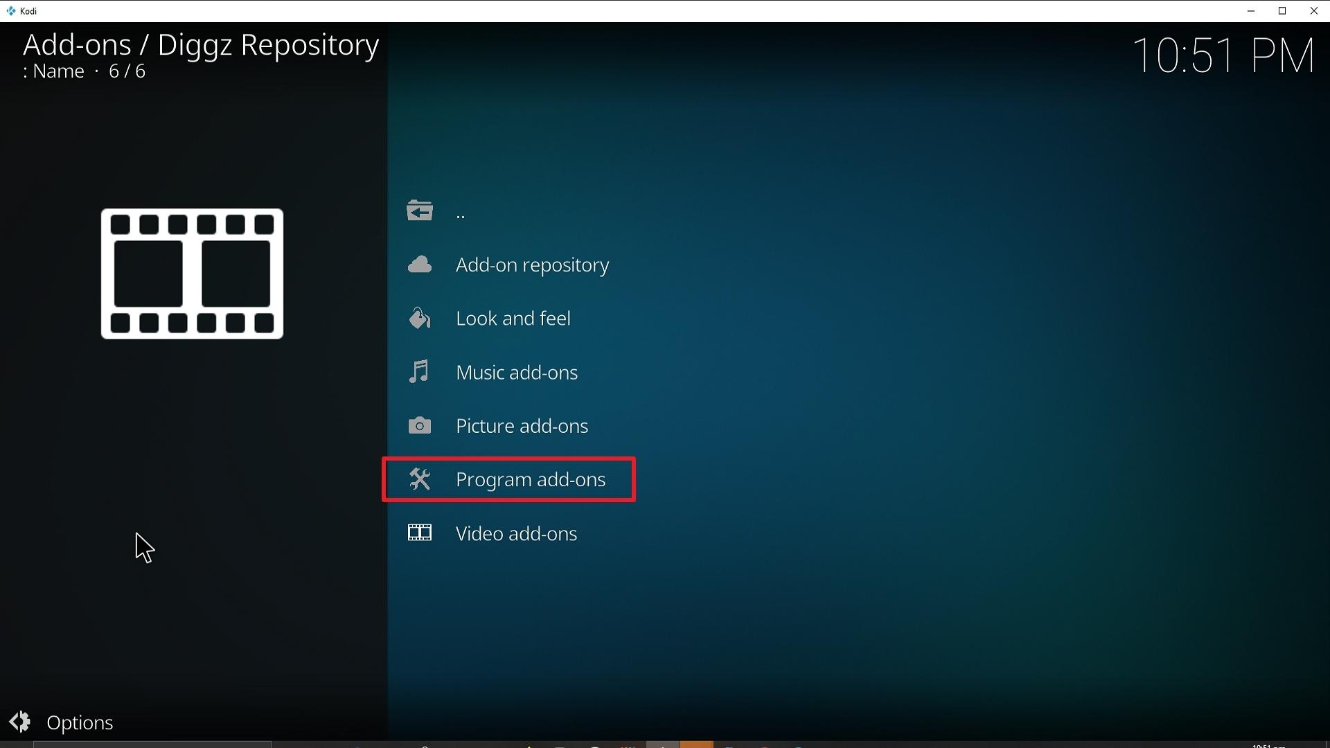 Step 22 Installing Diggz Xenon addon on Kodi