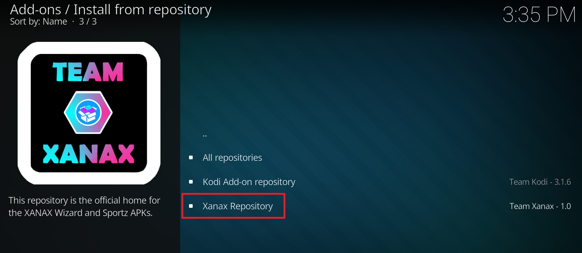 click on Xanax Repository