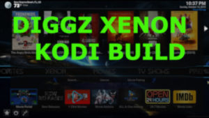 diggz xenon build installed on kodi thumbnail for site