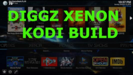 Install Diggz Xenon Kodi 18.7 Build on Firestick, Fire TV & Android [2020]