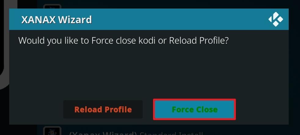 select force close