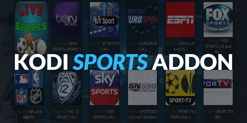Best Kodi Add-Ons For Sports
