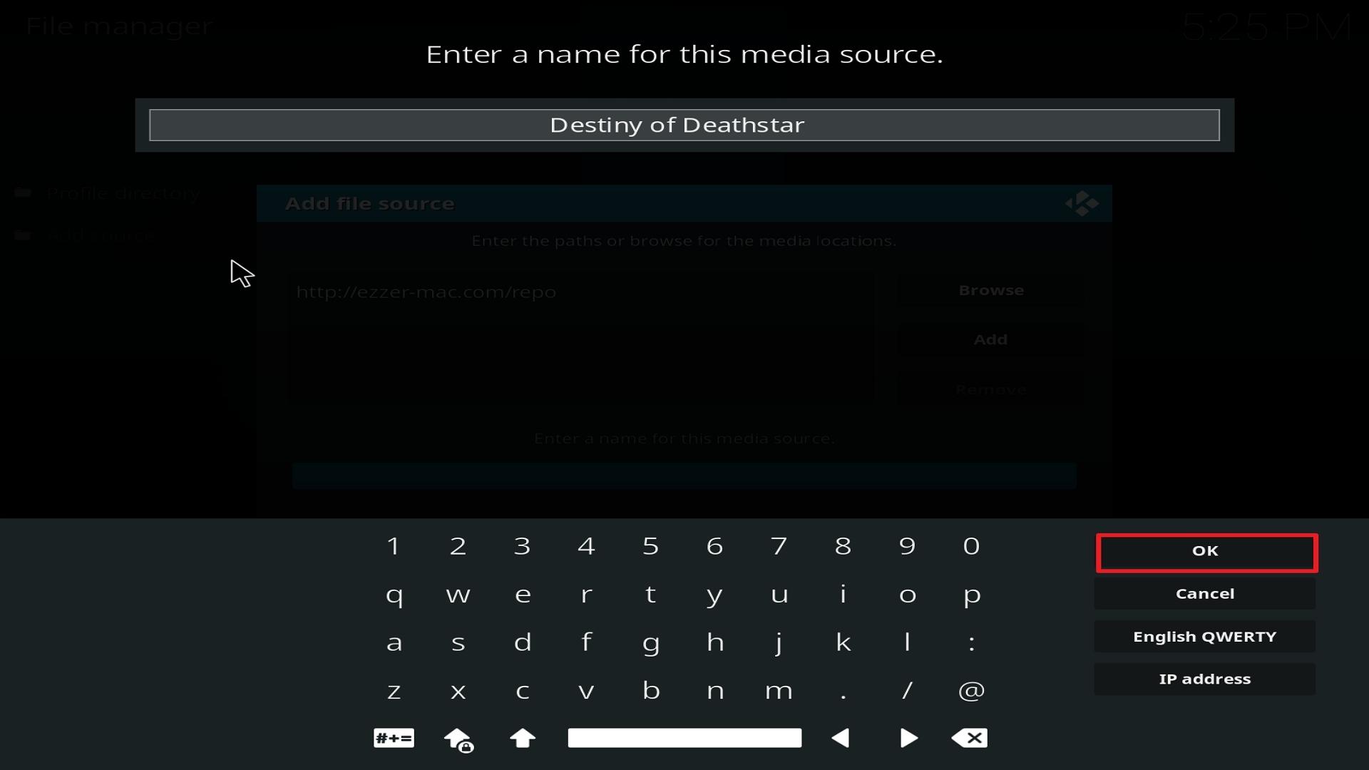Destiny of Deathstar install step 13