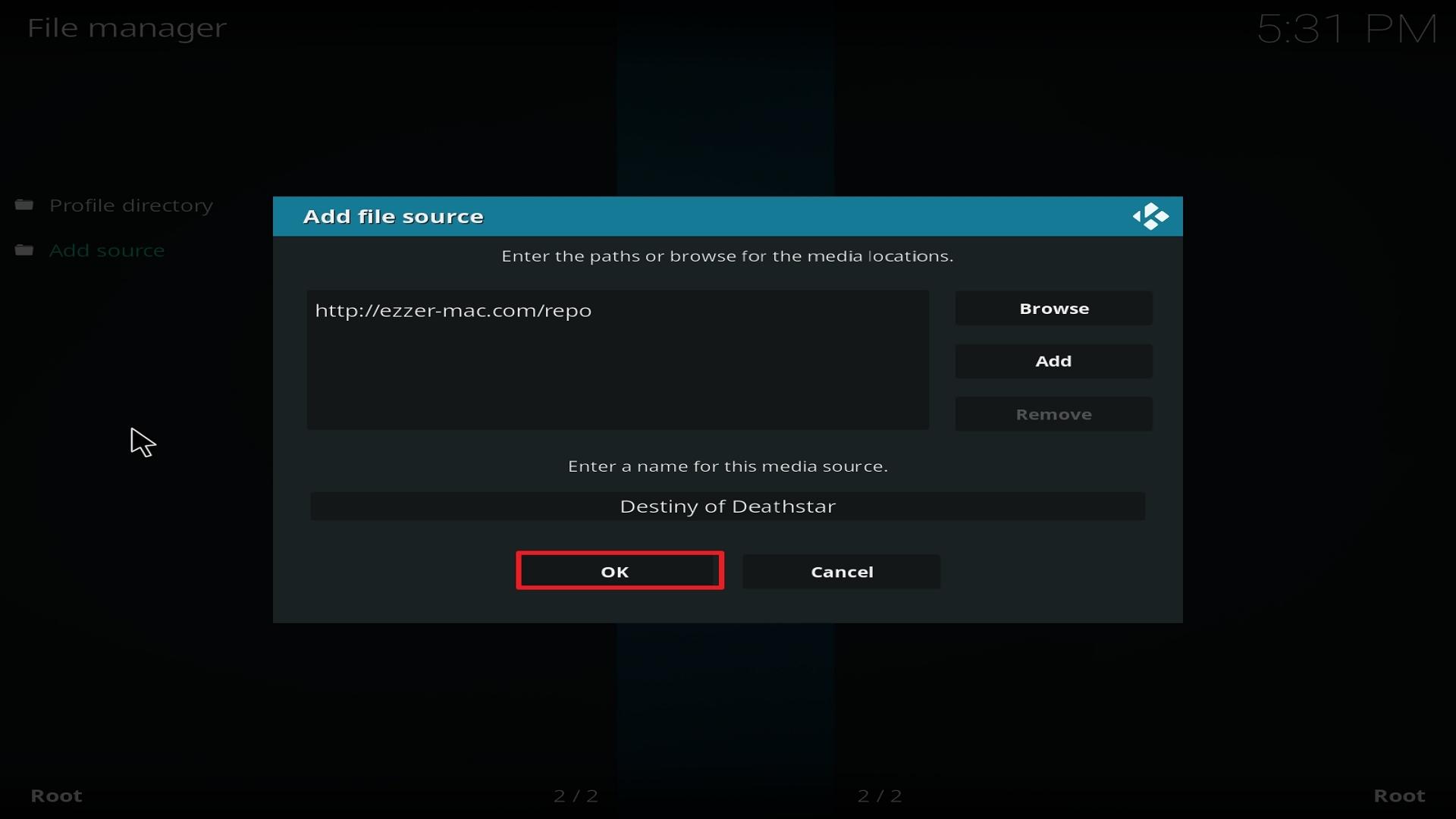 Destiny of Deathstar install step 14