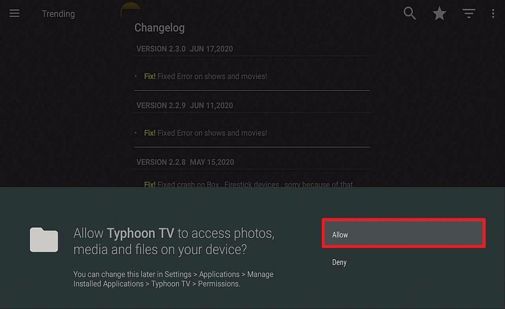 Step 15 Install Typhoon TV on Firestick