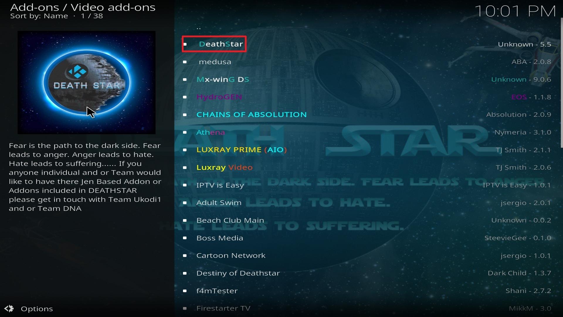 Destiny of Deathstar install step 22