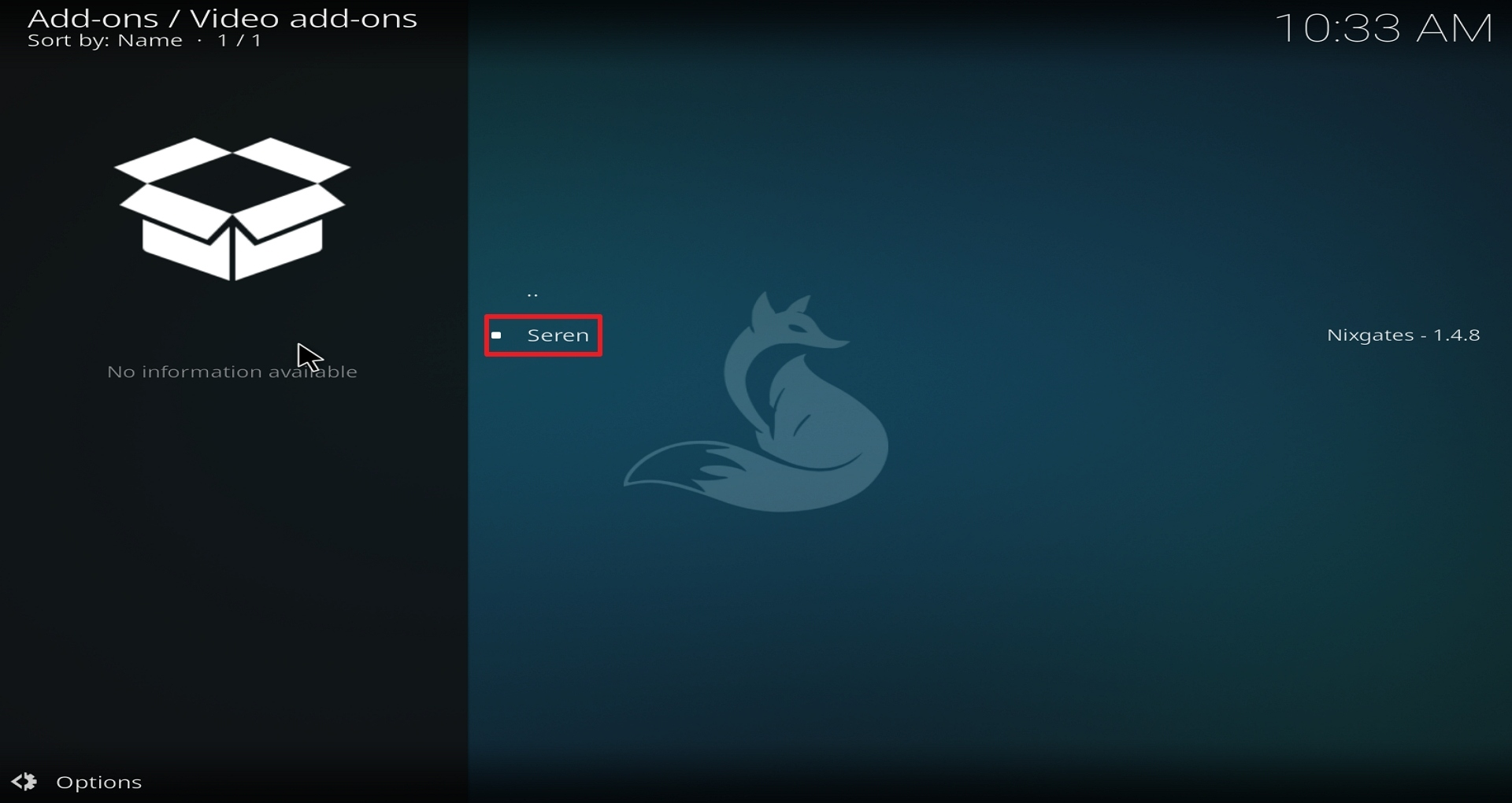 Step 22 Installing Seren on Kodi