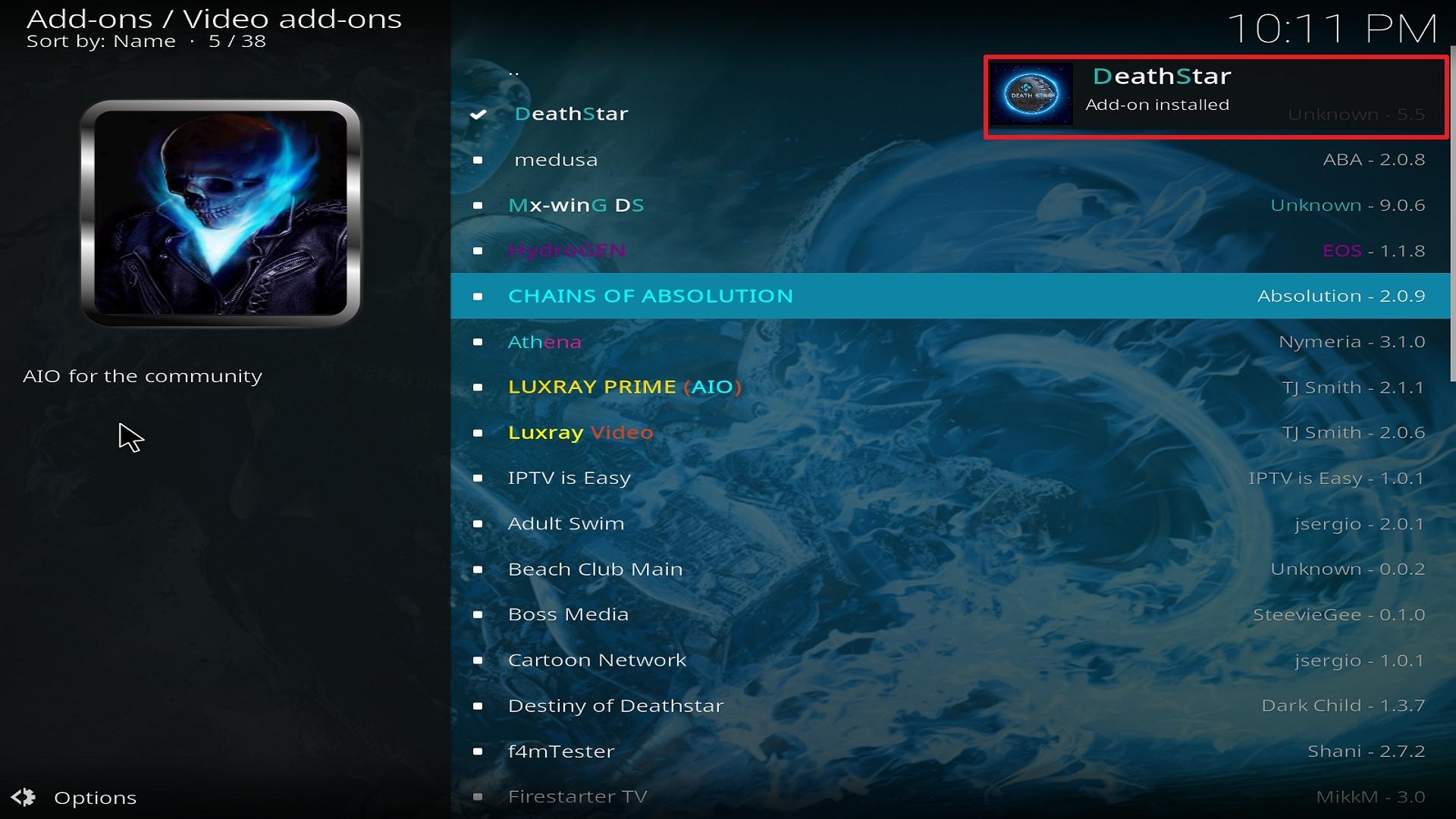 Destiny of Deathstar install step 25