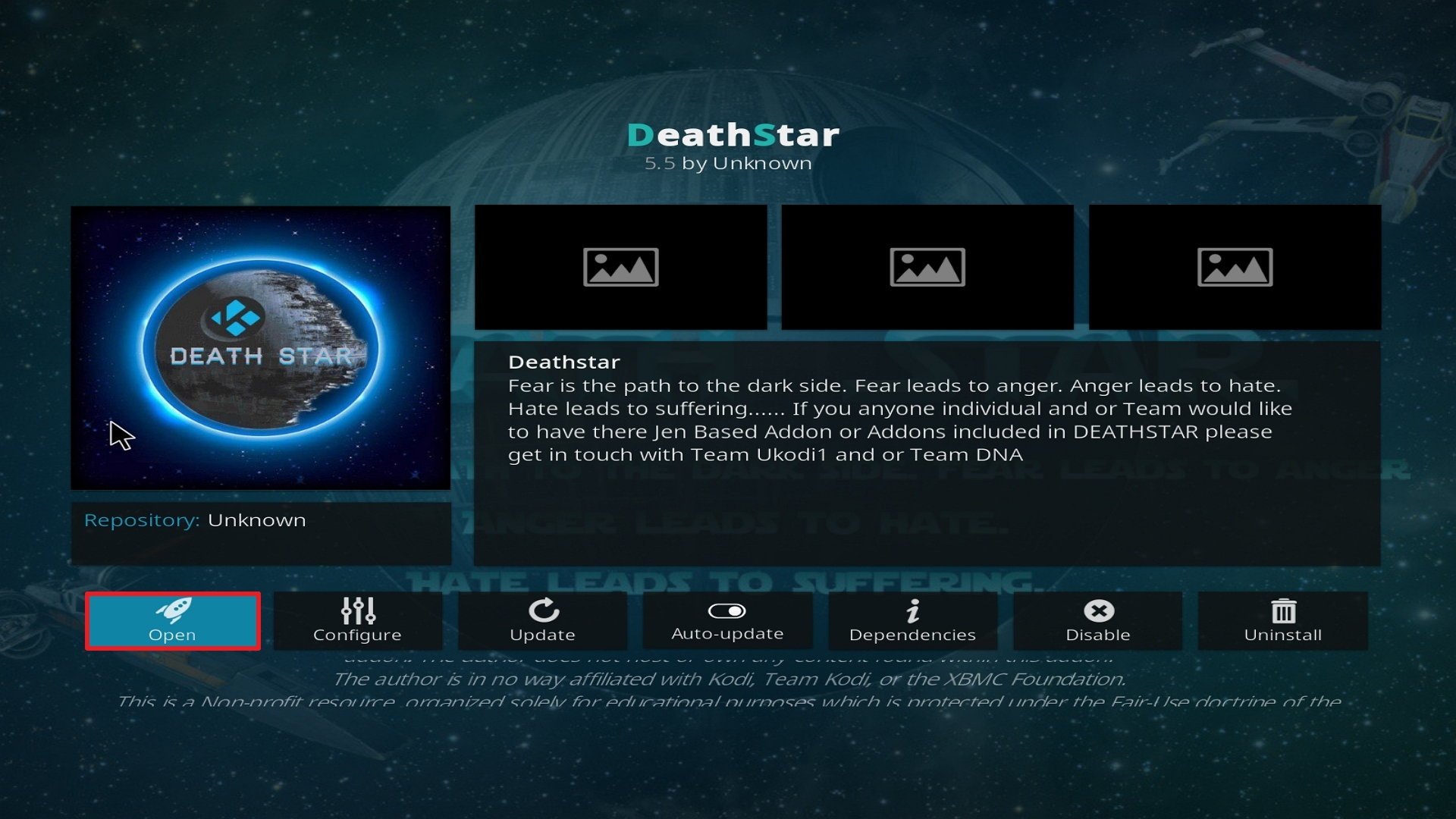 Destiny of Deathstar install step 26