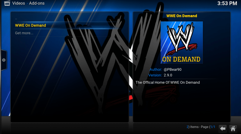 WWE on Demand Image