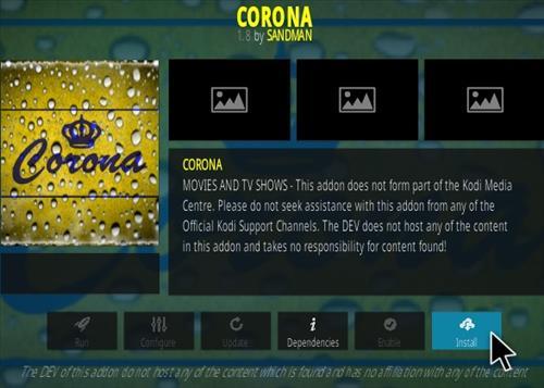 Install Corona Kodi Add-On in 2 Minutes – 2019