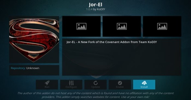 How To Install Jor-El Kodi Addon on Firestick, Fire TV, Android, Mac, & PC
