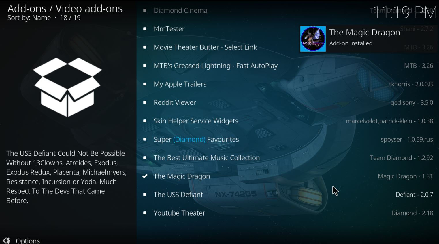 kodi you should see a popup saying the addon has installed