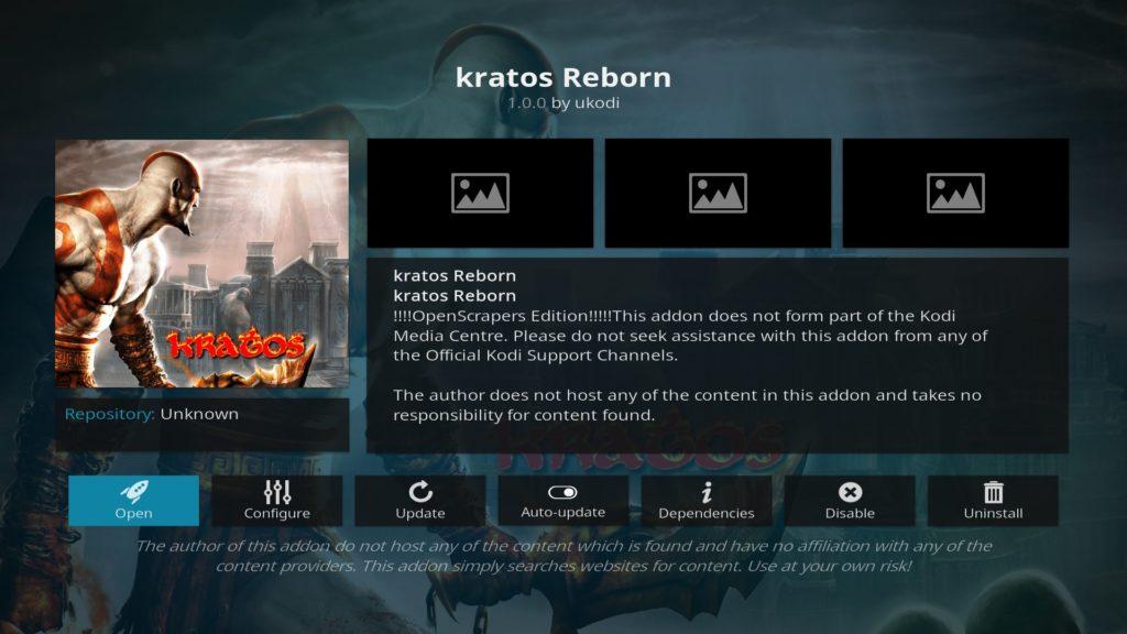 The Kratos Reborn Image