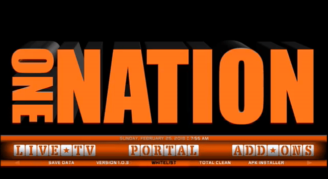Install One Nation Portal Kodi Build in 5 Minutes [2020]