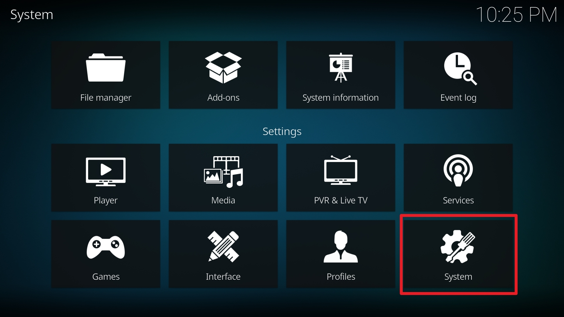 Step 2 Installing Halow TV addon on Kodi