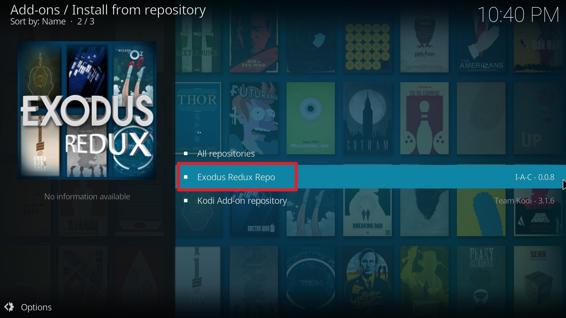 exodus redux install step 20