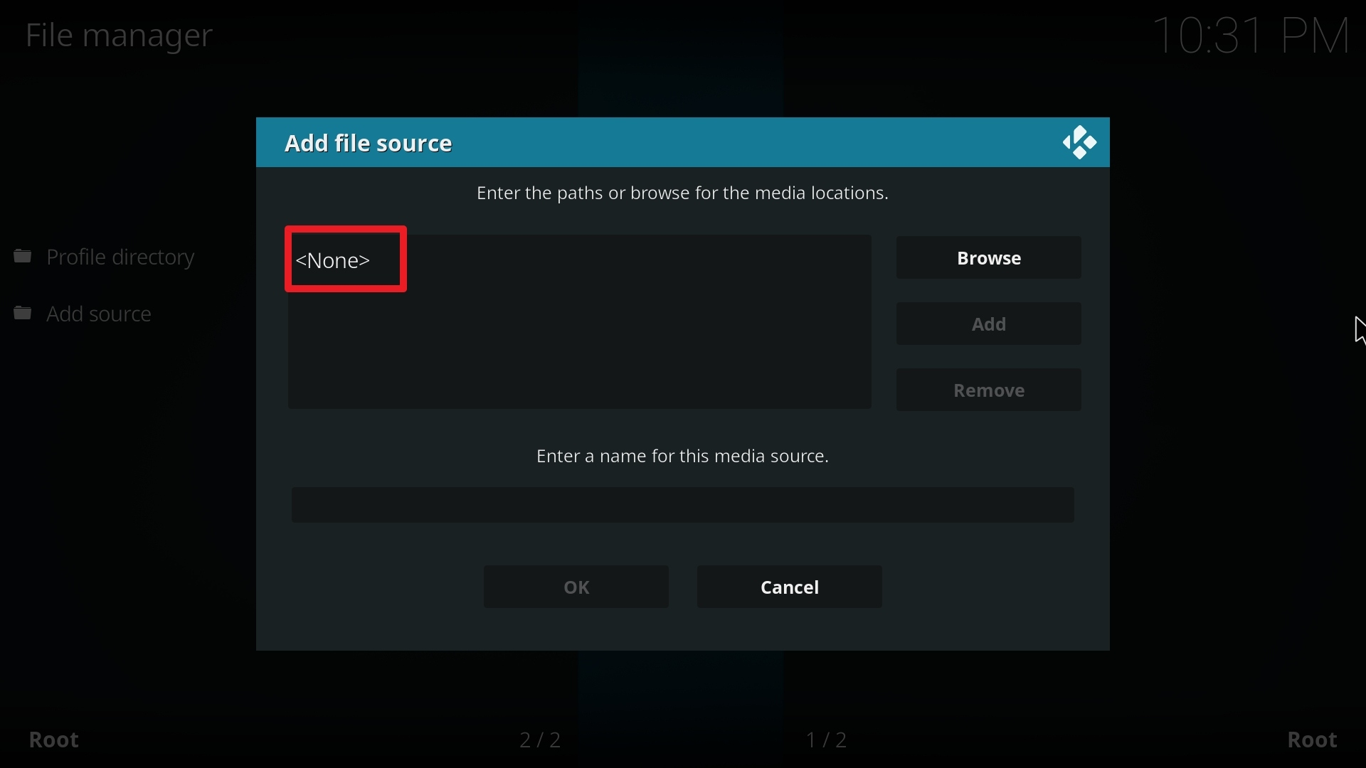 Step 8 Installing Halow TV addon on Kodi