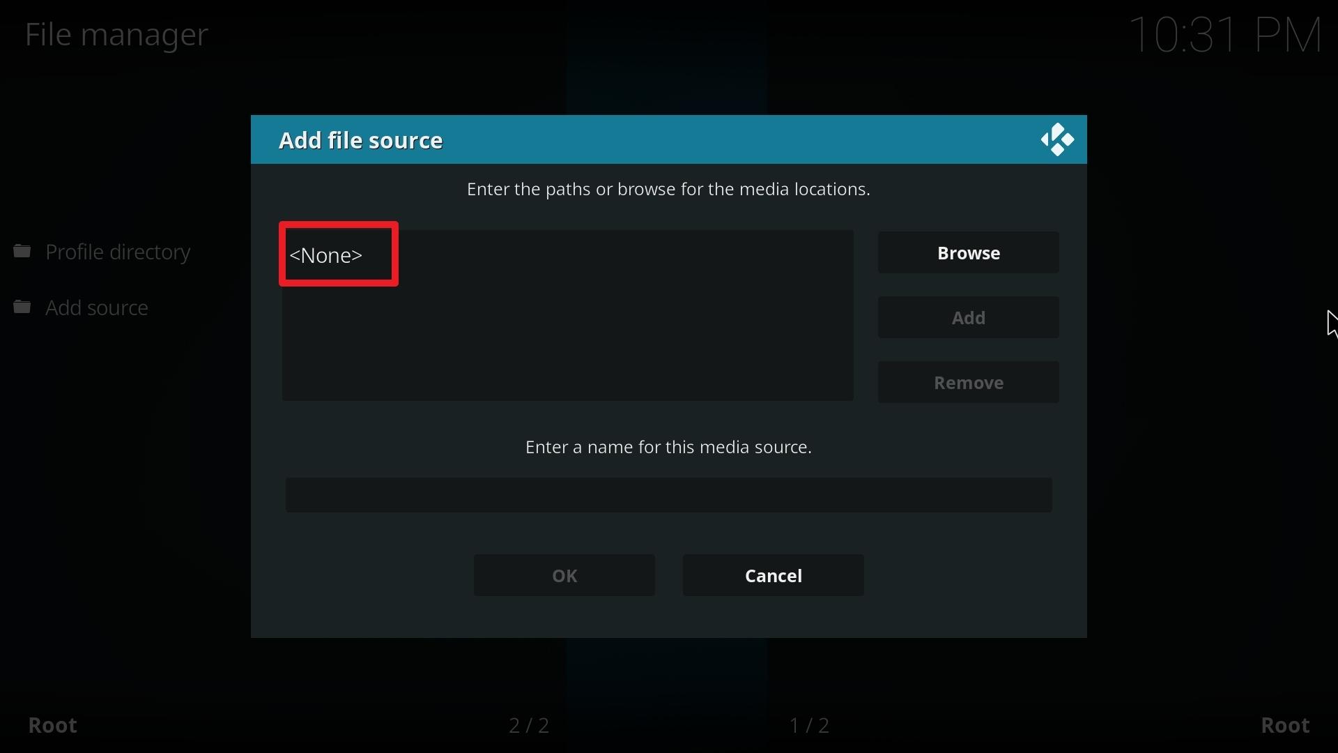Step 8 Install Athena kodi addon