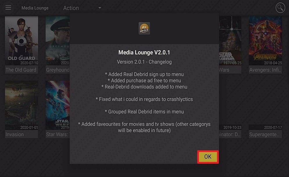 Step 19 Install Media Lounge on firestick