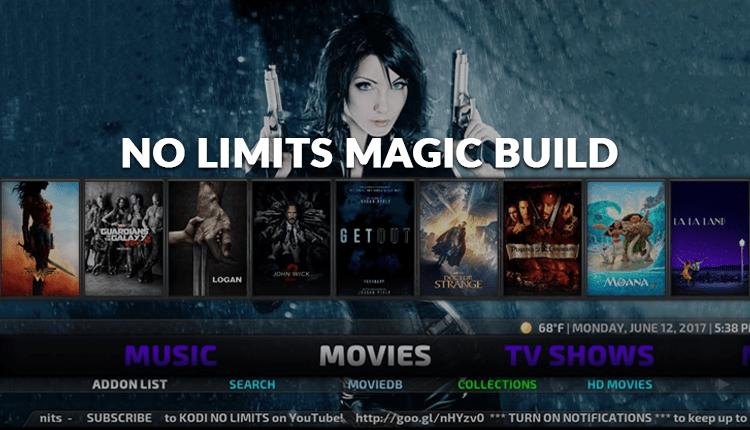 Install No Limits Magic Kodi Build in 2020