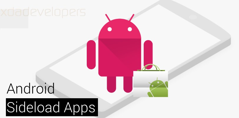Sideloaded Android Application Logo