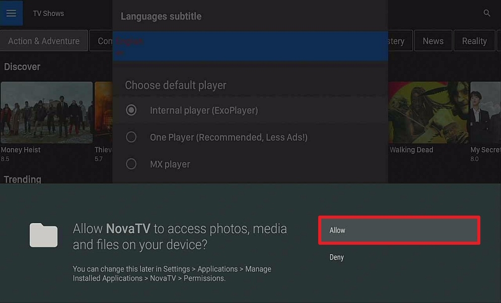 Step 15 Install Nova TV on Firestick