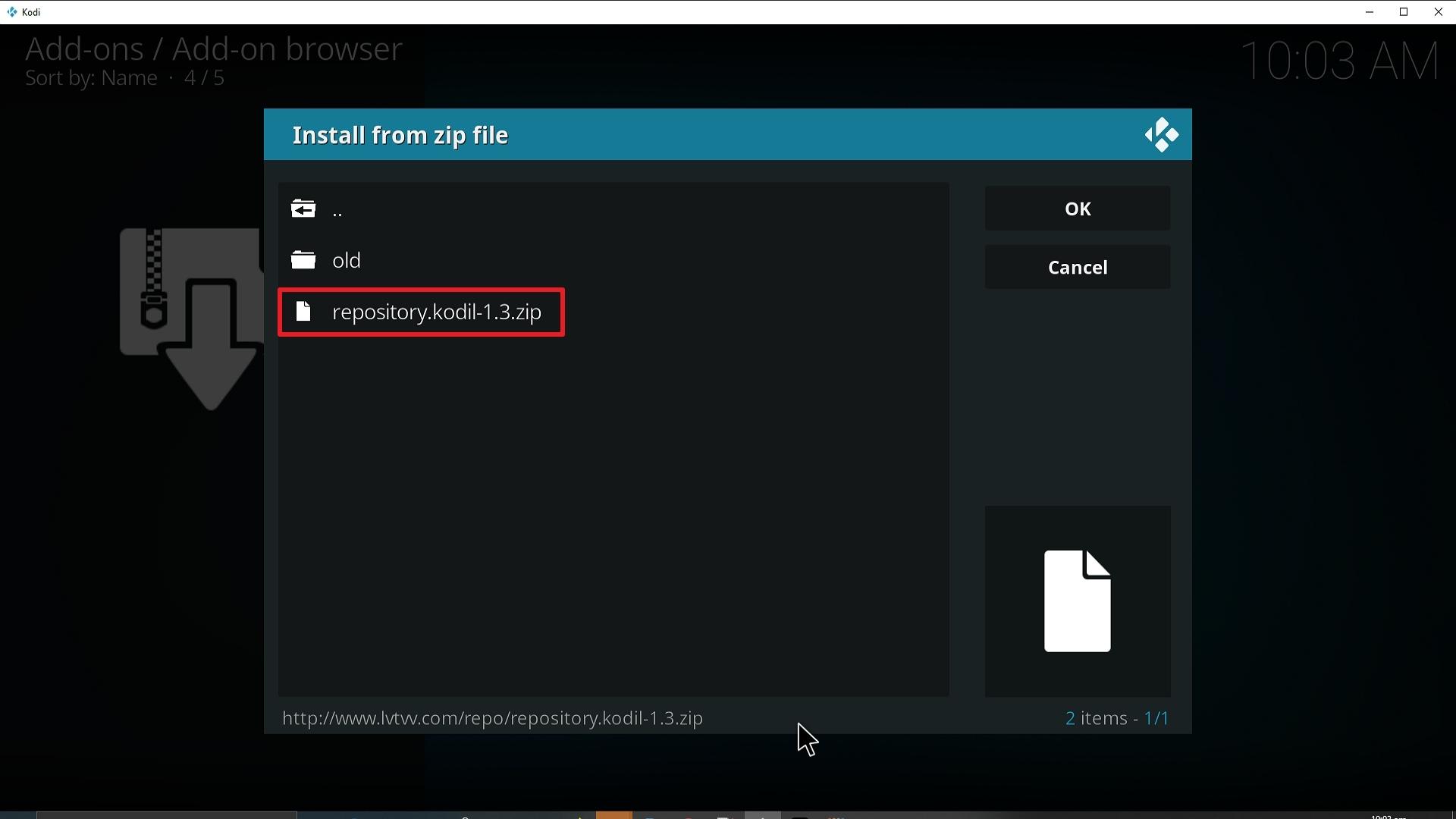Step 18 Installing YouPorn addon on Kodi