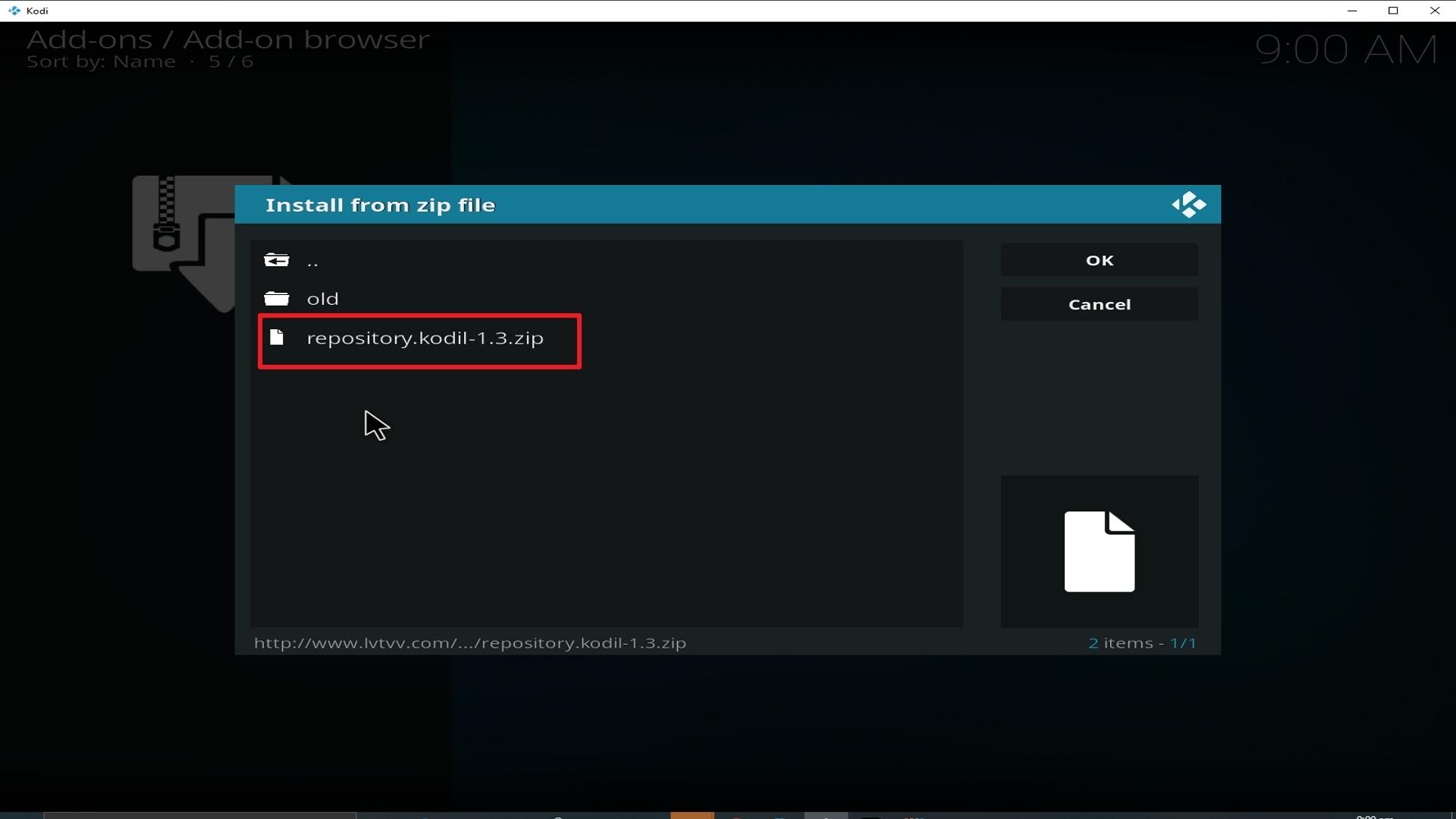 Step 18 Installing cCloud TV addon on Kodi