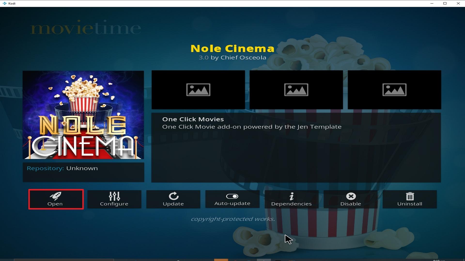 Step 26 Installing Nole Cinema addon on Kodi