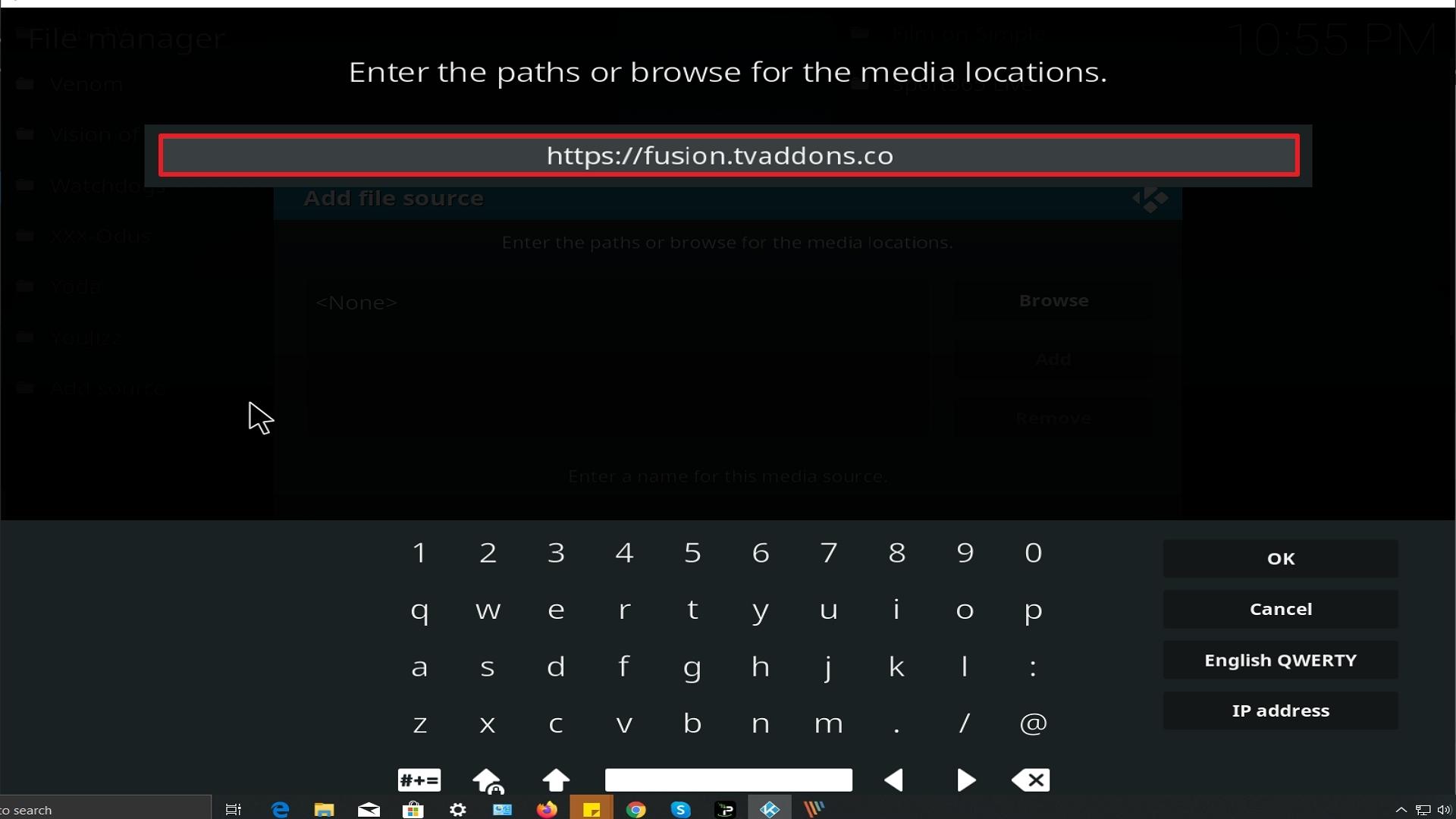 Step 9 Installing Video Devil Kodi addon on Kodi
