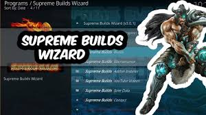 Supreme Builds Wizard Image