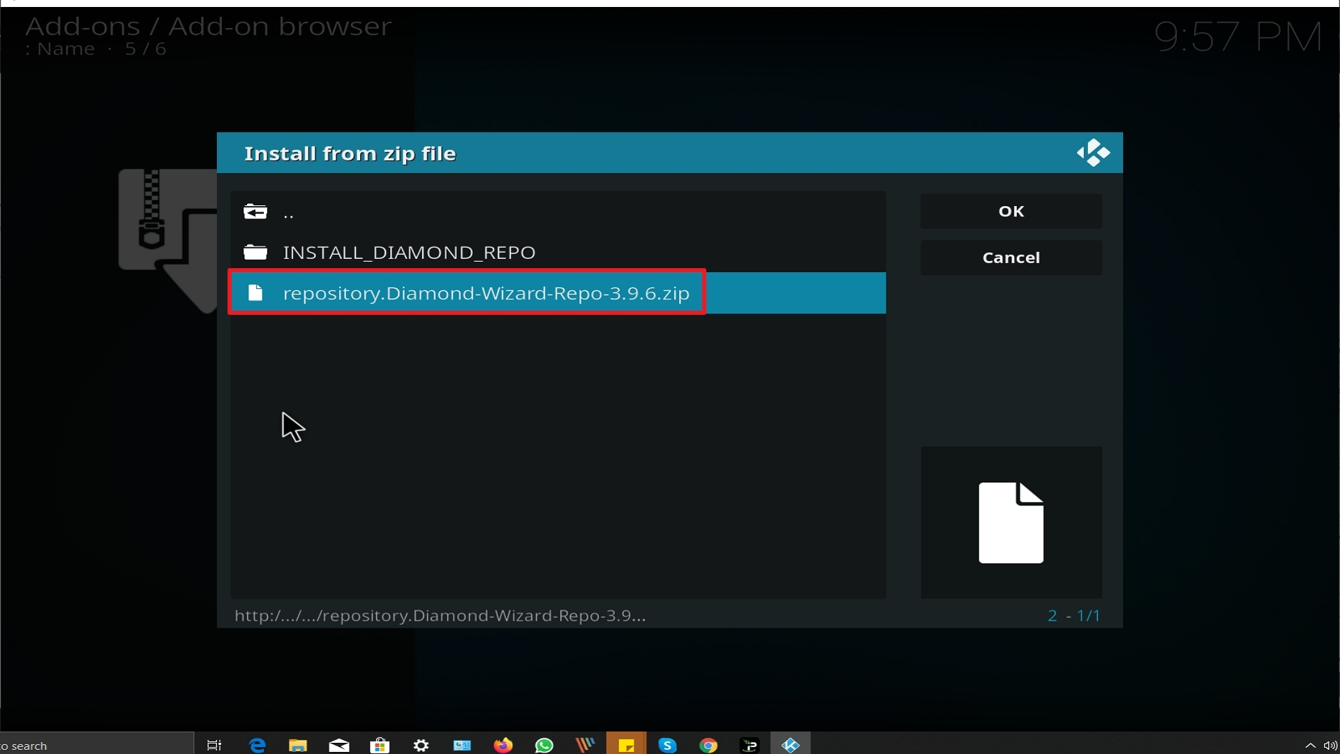 Step 18 Installing A Pirate's Life For Me addon on Kodi