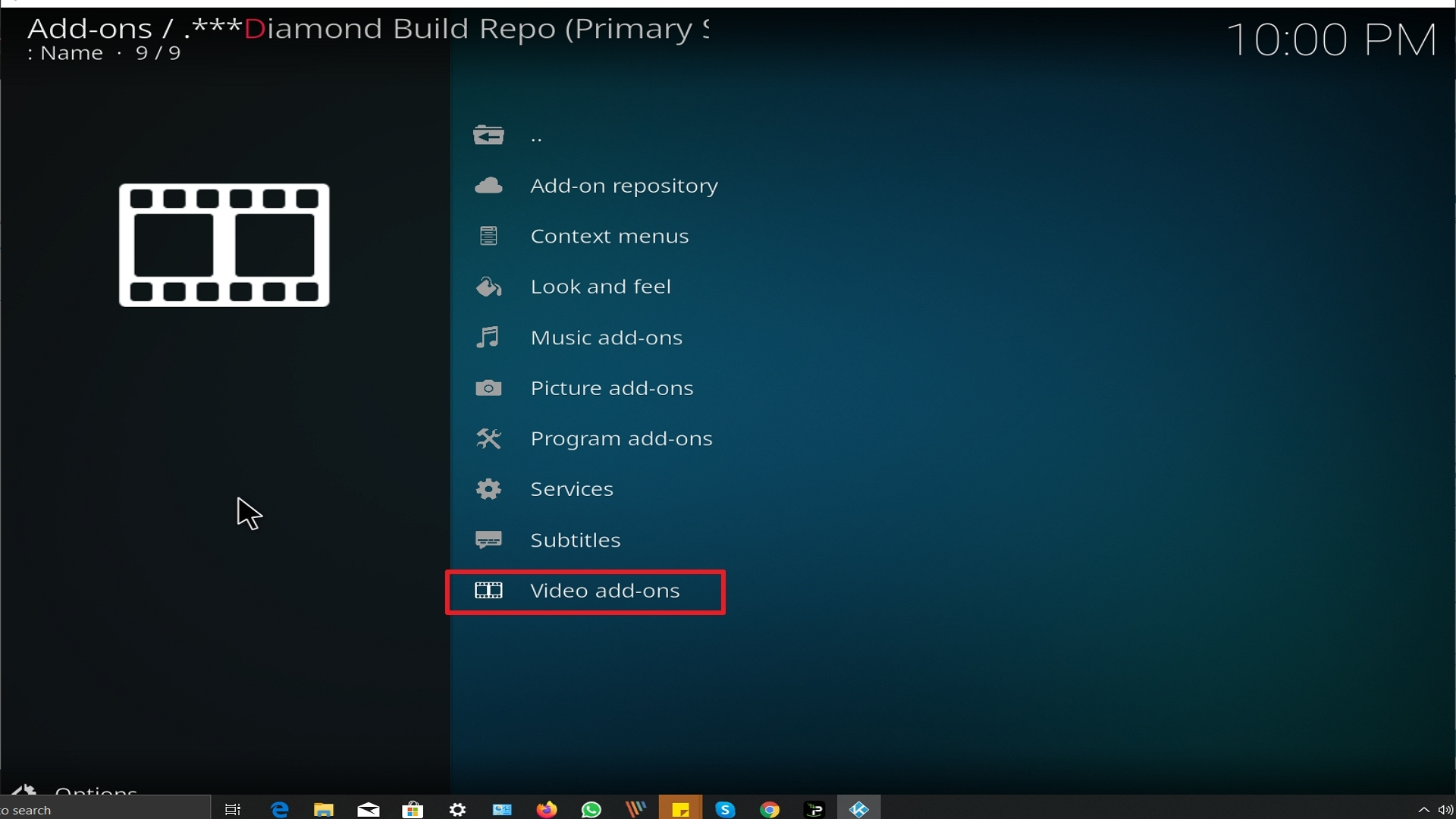 Step 21 Installing A Pirate's Life For Me addon on Kodi