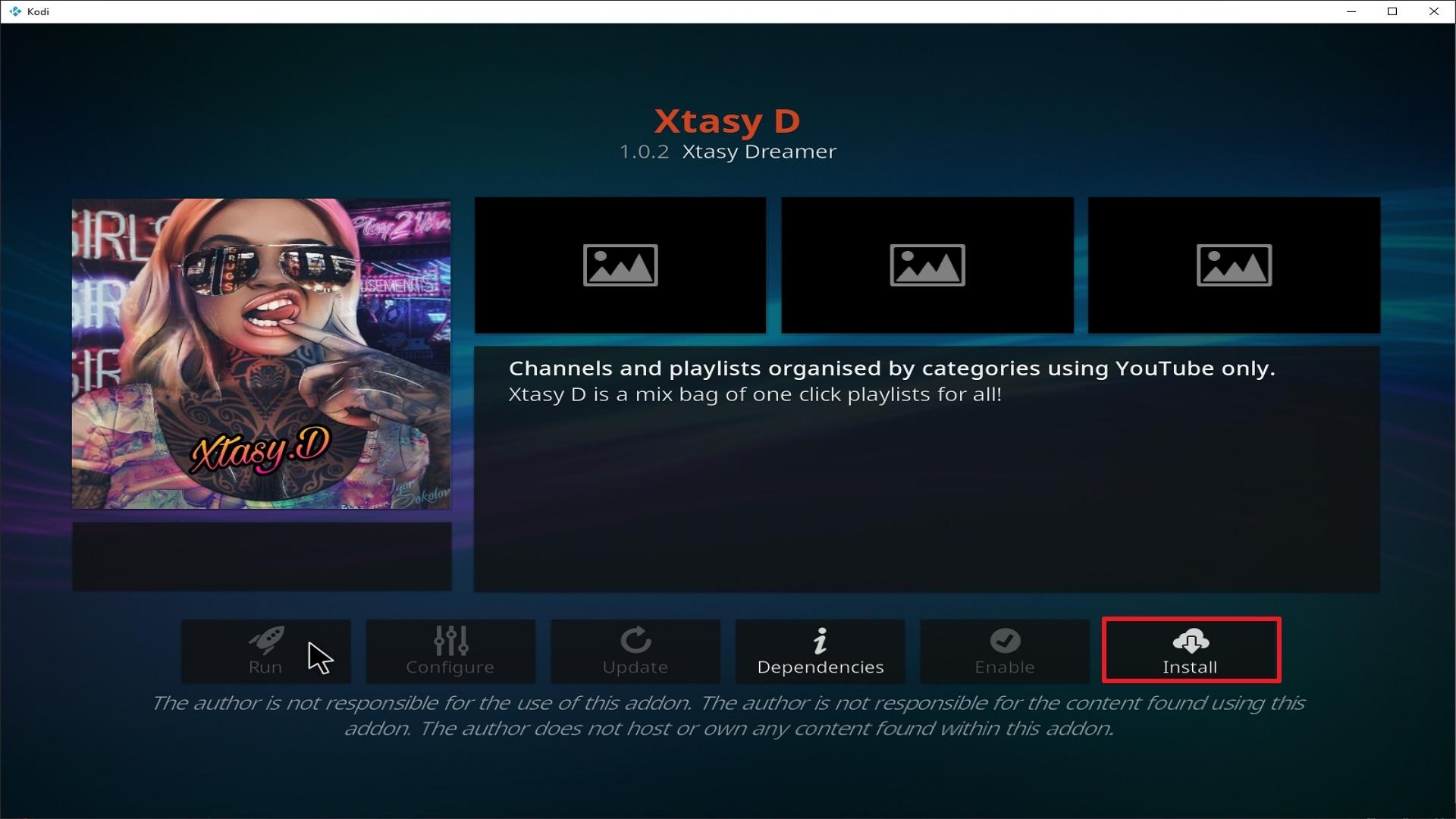 Step 23 Installing Xtasy addon on Kodi