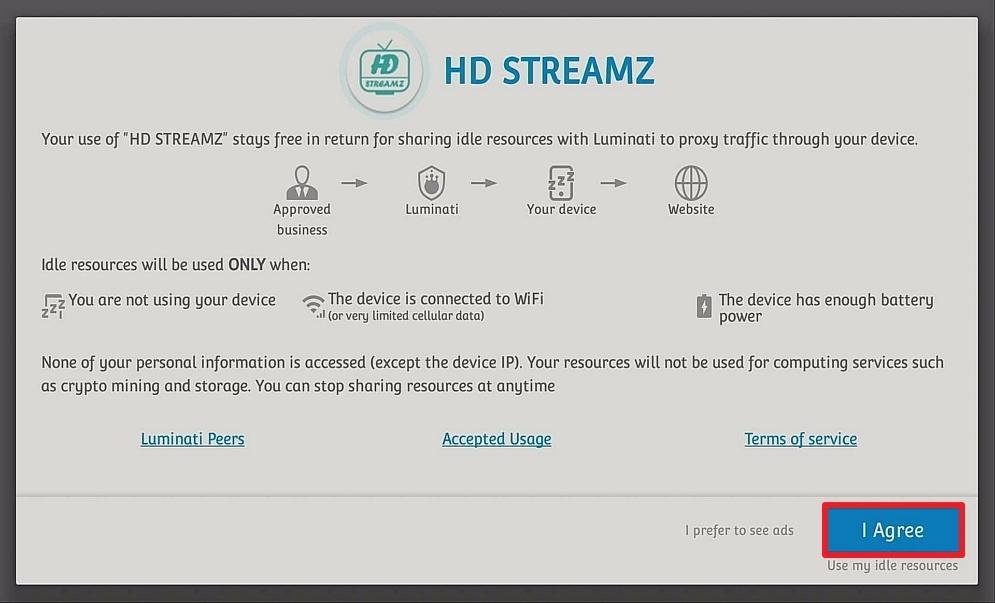 Step 15 Install HD Streamz IPTV on Firestick