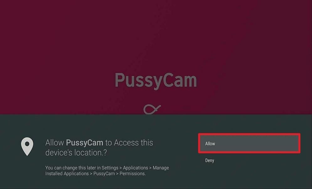 Step 15 Install Pussycam APK on Firestick