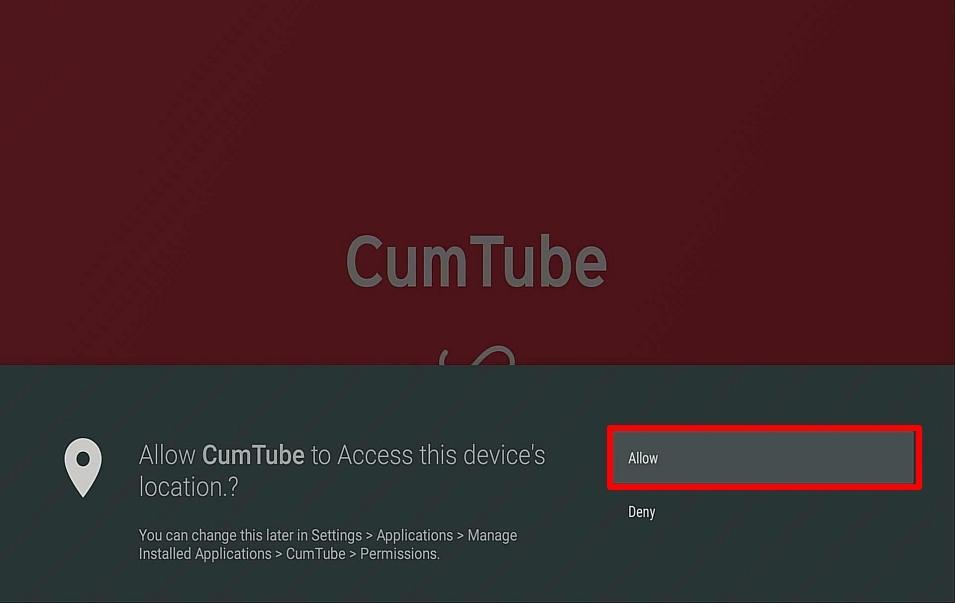 Step 16 Install CumTube on Firestick