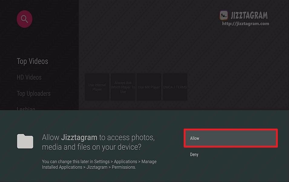 Step 17 Install Jizztagram on Firestick