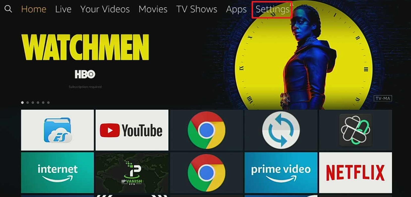 Step 1 Install Porn HD Movies on Firestick