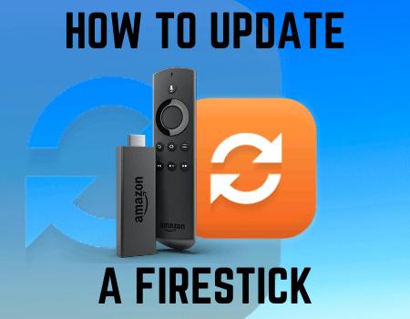 How to Update a Firestick