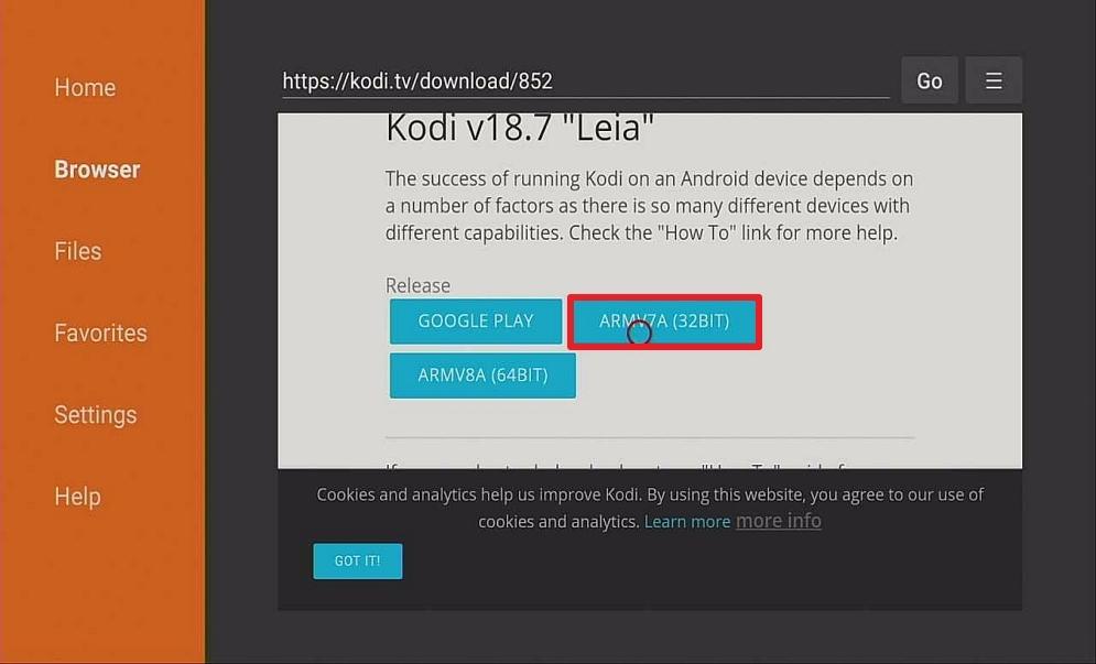Step 13 Download Kodi On Your Firestick via Downloader App