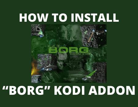 "How to install ""BORG"" Kodi addon"