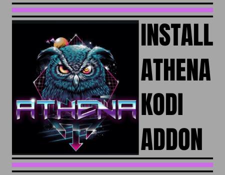 How to Install Athena Kodi Addon