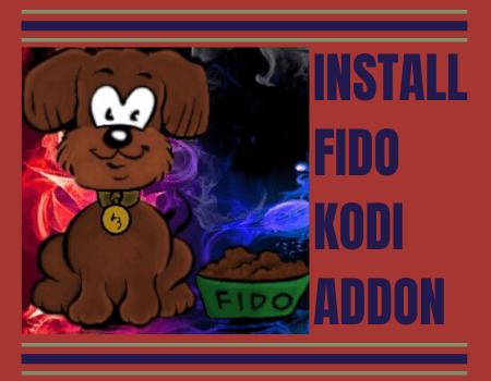 How to Install Fido Kodi Addon