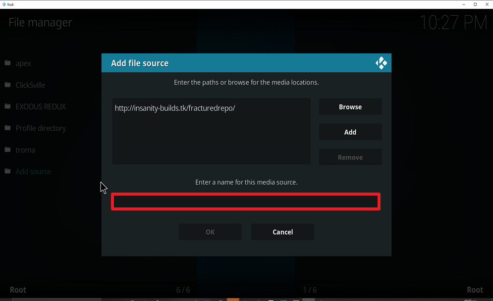 Step 10 Install Real Debrid Exclusively Movies on kodi