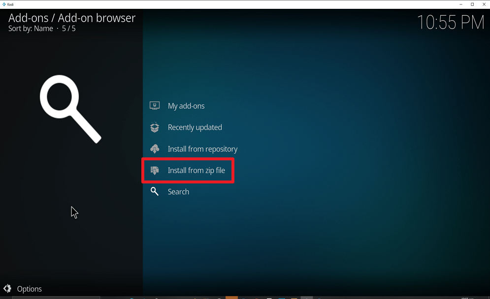 Step 15 Install Real Debrid Exclusively Movies on kodi